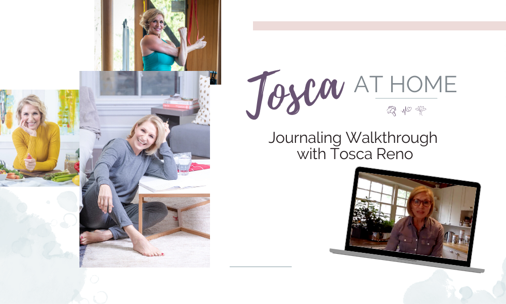 Journaling: A Walkthrough with Tosca Reno